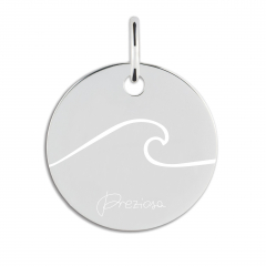 CHARM WAVE ENGRAVED