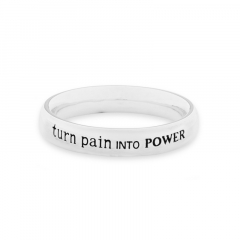 """ANELLO """"TURN PAIN INTO POWER"""""""